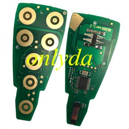 remote key with 434mhz with PCF7961(Hitag2) chip with 11models key shell, please choose which key shell you need