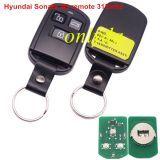 For hyundai Sonata 3 button remote control with 315mhz