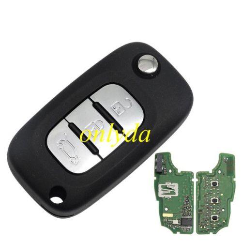 For original Citroen 3 button remote key with 434mhz