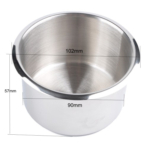 9*5.5CM Stainless Steel Drop in Cup Holder Wholesale Price for RV Car Truck /Shopify,Amazon,Ebay,Wish Hot Seller