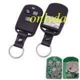 For hyundai Sonata split remote with 447mhz & 3 button EFFSKTX REV:10