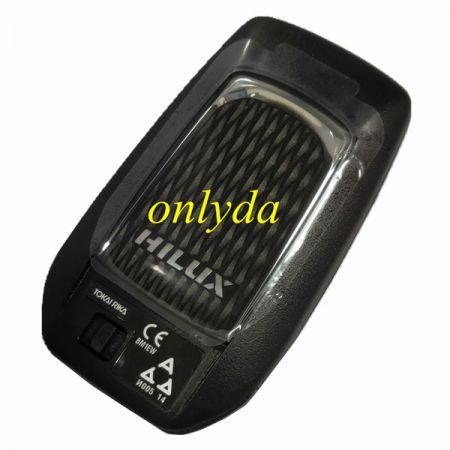 2 Button remote key with Toyota H chip 433mhz FCCID:61A965-0182 chip No.RF430F, small chiph7900N Crystal is 13.080