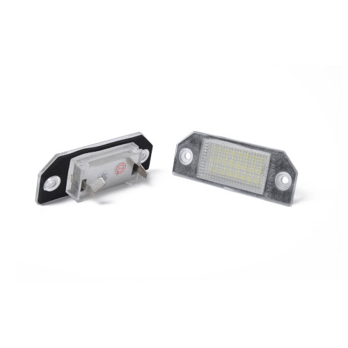 2 x LED License Plate Lamp with Licence frame-Wholesale Price at BAJUTU for Ford Focus MK2 OE:4052331 Ebay,Wish Hot Seller