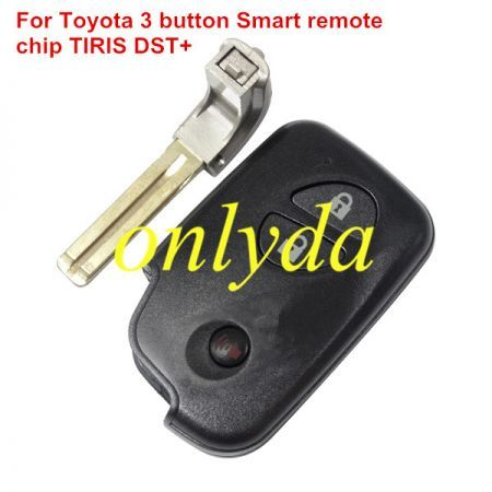 For Lexus 3 button Smart Key The chip is TIRIS DST+