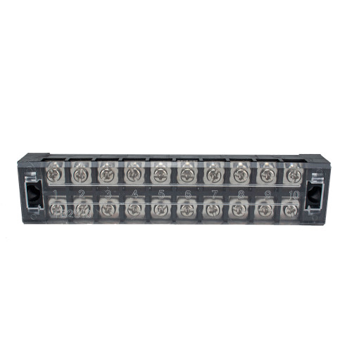 10 Positions Dual Row Screw Terminal Strip Block-Wholesale Price  for Rv Boat  /Shopify,Amazon,Ebay,Wish Hot Seller