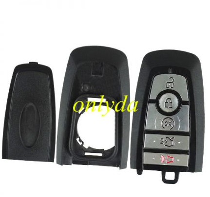 keyless 4+1 button remote key with 902mhz with HITAG PRO