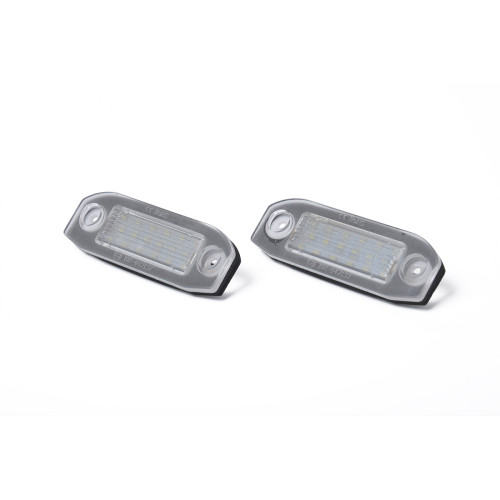 2 x LED License Plate Light Lamp with Licence frame-Wholesale Price  for VOLVO C30 OE:30634190 Ebay,Wish Hot Seller