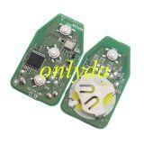 For original hyundai 3+1B remote 315mhz, original PCB