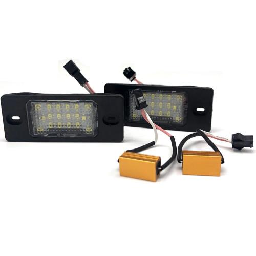 New LED License lamp Wholesale Price for Porsch e Cayenne VW Touareg Passat OE:95563162002 Amazon,Ebay,Wish Hot Seller