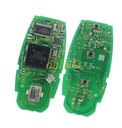 Original Suzuki 3 button Smart Card with 47 Chip (HITAG3)with 433mhz CMIIT ID:2013DJ1474  R79M0