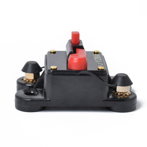 DC12V Car Auto Stereo Audio System Inline Circuit Breaker Fuse 120A AMP