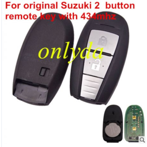 For original Suzuki 2B remote key with 434mhz & PCF7953(HITAG3)chip