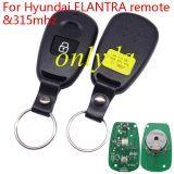 For hyundai ELANTRA remote with 315mhz