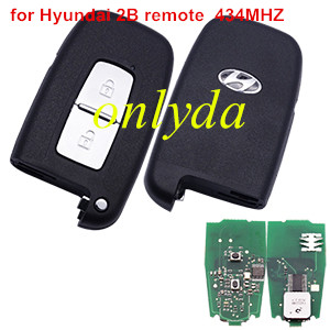 Hyundai 2 Button remote key  434MHZ