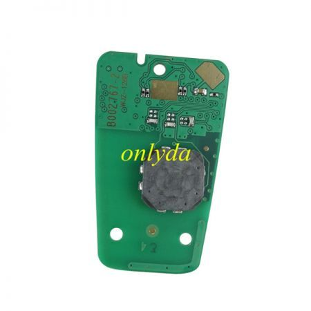 smart KEYLESS remote key with 434mhz 46 chip PCF7945/7953(HITAG2) chip