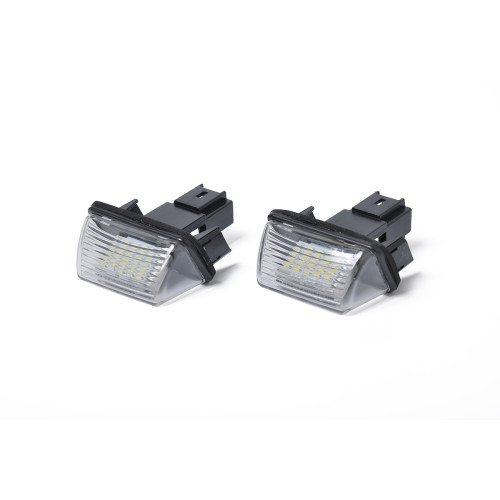 2 x LED License Plate Lamp with Licence frame-Wholesale Price  for Citroen Picasso OE:6340A3 Ebay,Wish Hot Seller