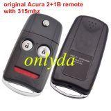 For Alfa original 3 button remote key with 433mhz