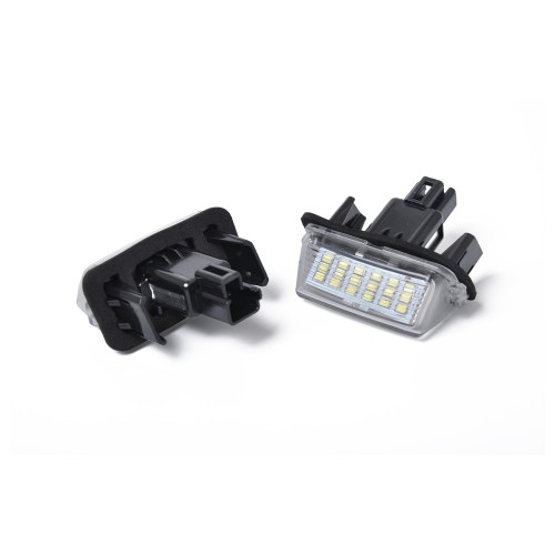 2 x LED License Plate Lamp with Licence frame-Wholesale Price  for Toyota Camry Yari OE:812700D120 Ebay,Wish Hot Seller
