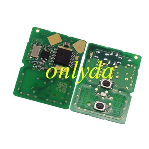 For original Mazda 2 series,2 button remote key with 315mhz