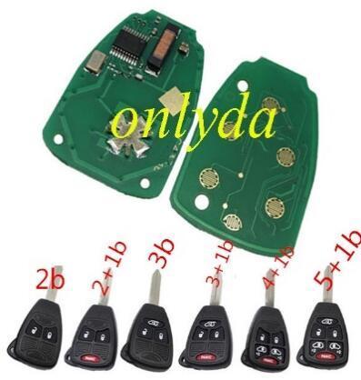 For Chrysler remote key 46 Chip OHT692427AA 433.92Mhz