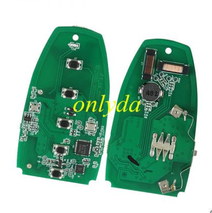 4 button keyless remote key with 315mhz HS7T-15K601-CB A2C93142400 for Ford F-Series 2015-2017