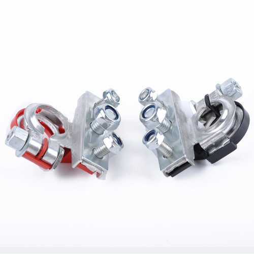 Pure Copper Tinned Battery Terminal Car Quick Connector Cable Clamp Clips 2pcs  -Wholesale Price at IQIHU for Universal type