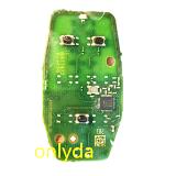 Original 3 button keyless remote key PCB