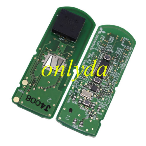 For Mazda Original 3 button keyless smart remote key with 315/433mhz with hitag pro 49 chip