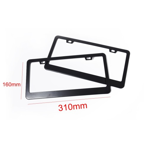 2 x LED License Plate Light Lamp with Licence frame Wholesale Price  for Skoda Octavia Roomster Ebay,Wish Hot Seller