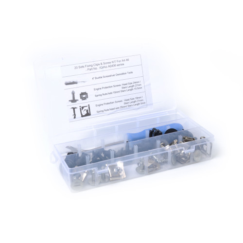 Under Guard Engine Cover Fixing Clips & Screw KIT-Wholesale Price   for AUDI A4 A6 A8 VW Ebay,Wish Hot Seller