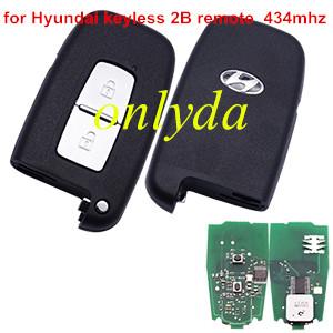 Hyundai 2 Button keyless remote key  434MHZ