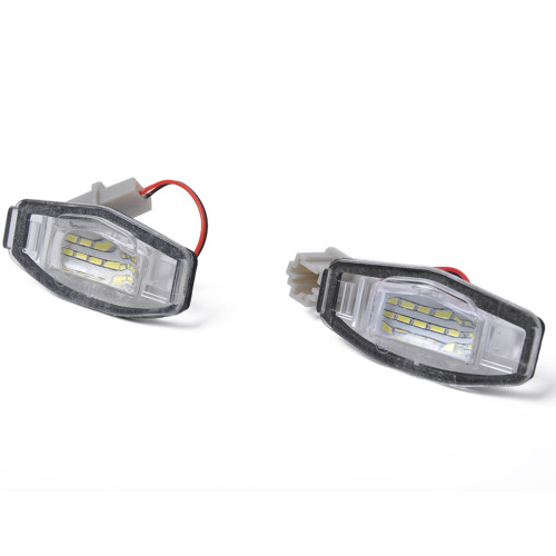2 x New LED License Plate Light Lamp Wholesale Price  for Honda Civic OE:34100S84A01 Shopify,Amazon,Wish Hot Seller