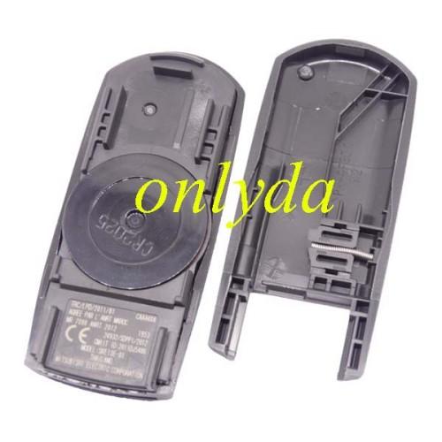 For Mazda Original 3 button remote key with 433mhz