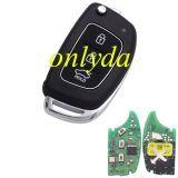 For Original hyundai 3 button remote key with 434mhz MP12R-23