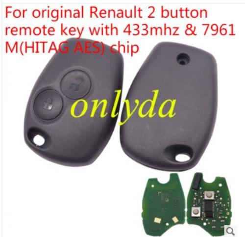 For original 433mhz & 7961M(HITAG AES) chip