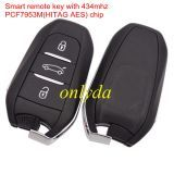 Original Smart remote key with 434mhz PCF7953M(HITAG AES) chip
