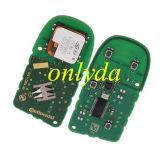 For original GM 2+1 button remote key with 434MHZ