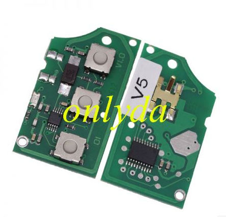For VW 3 Button remote control 1J0 959 753 DA with 433mhz