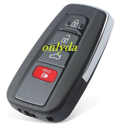 Toyota Camry 3+1 button remote  key with blade   HYQ14FBC 0351 BOARD  314mhz-312mhz