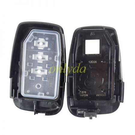 Smart for Toyota RAV4  2 button remote key with 434mhz with Toyota H chip