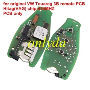 For original VW Touareg 3B remote PCB Hitag(VAG) chip-434Mmhz PCB only