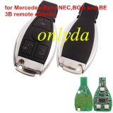 For Mercedes-Benz NEC,BGA and BE 3B remote 434mhz transponder printed:F9234 723E8715