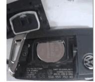 original VW keyless go remote key with 434mhz  5GO959753AB
