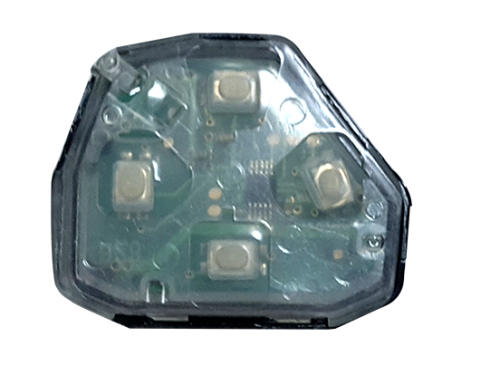 B3-10 ASK 315MHz 3 button remote 315MHZ, 3键, ASK