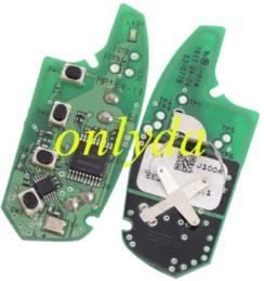 Original Hyundai 3+1 button remote key with 434mhz MP14Y-11