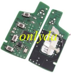 For original hyundai 3 button remote key with 434mhz MP14U-11