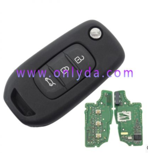 For original Renault 3 button remote key with 434mhz