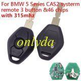 For BMW 5 Series CAS2 3B 315mhz /315-lpmhz /434mhz /868mhz electric 46 chip