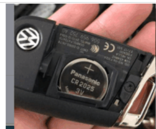 original VW 3 button remote key with 434mhz 5G6959353AG