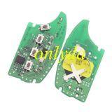 For Original hyundai 3+1 button remote key with 315mhz FSK model MP12R-12